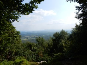 View south from top of Blue Mountain