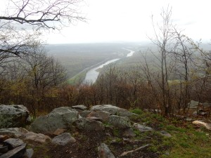 View of the Delaware River from Mount Minsi